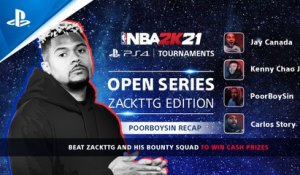 PoorBoySin vs. NBA 2K21 Open Series Players | PS4 Tournaments