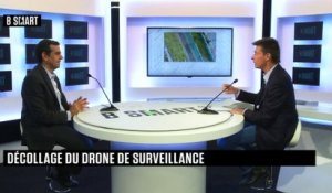 "BE SMART - L'interview ""Innovation"" de Jean Marc Crépin (Azur Drones) par Stéphane Soumier"