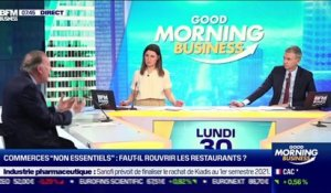 Pierre Gattaz (Business Europe) : Faut-il rouvrir les restaurants ? - 30/11