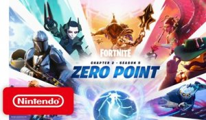Zero Point Launch Trailer for Fortnite Chapter 2 - Season 5 - Nintendo Switch