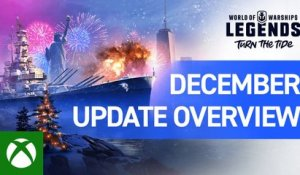 World of Warships: Legends – December Update Overview