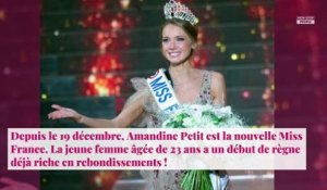 Miss France 2021 : Amandine Petit célibataire ? Cette phrase qui intrigue !