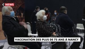 Coronavirus : vaccinations des plus de 75 ans à Nancy