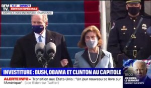 Investiture de Joe Biden: George W. Bush et son épouse Lara arrivent au Capitole