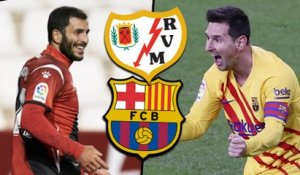 Vallecano-FC Barcelone : les compositions probables