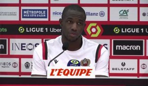 Kamara : «Je ne comprends pas pourquoi on recule» - Foot - L1 - Nice