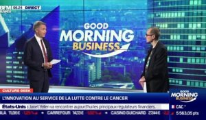 Culture Geek : L'innovation au service de la lutte contre le cancer, par Anthony Morel - 04/02