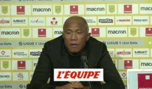 Kombouaré évoque son staff - Foot - L1 - Nantes