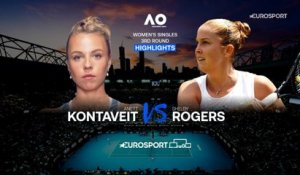 Highlights | Anett Kontaveit - Shelby Rogers