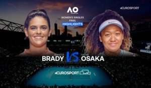 Highlights | Jennifer Brady - Naomi Osaka