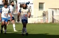 Nationale Rugby. Aubenas crucifie Blagnac en fin de match