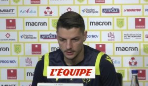 Girotto : « La discipline, un point fort du coach » - Foot - L1 - Nantes