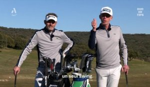 Duo de tips : 1 swing 3 trajectoires