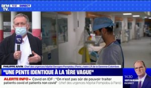 "Pr Philippe Juvin: ""Il ne reste que le confinement strict comme solution"""