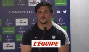 Camille Chat : « On a pris beaucoup de plaisir » - Rugby - CE - Racing