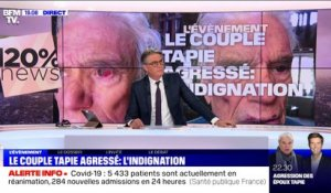 Couple Tapie agressé: l'indignation - 05/04
