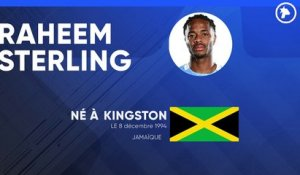 La fiche technique de Raheem Sterling