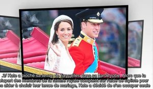 Kate Middleton et William - les 8 secrets de leur mariage
