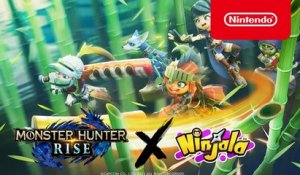 Ninjala x Monster Hunter Rise - DLC Trailer - Nintendo Switch
