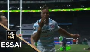 TOP 14 - Essai de Teddy THOMAS (R92) - Racing 92 - Paris - J21 - Saison 2020/2021