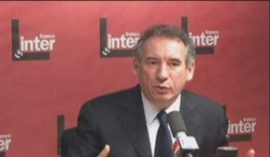 France Inter - François Bayrou