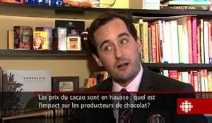 Gérald Fillion - Exportation de chocolat