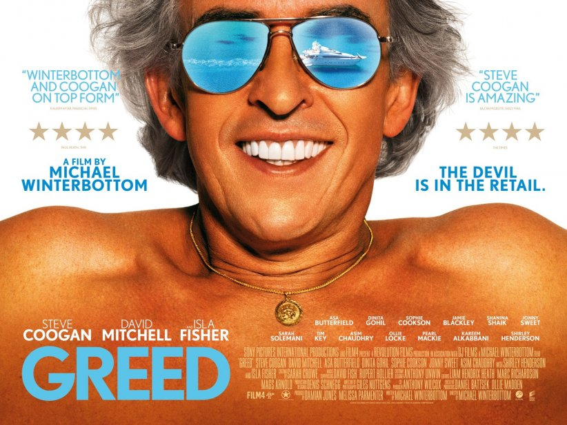 Greed : Affiche