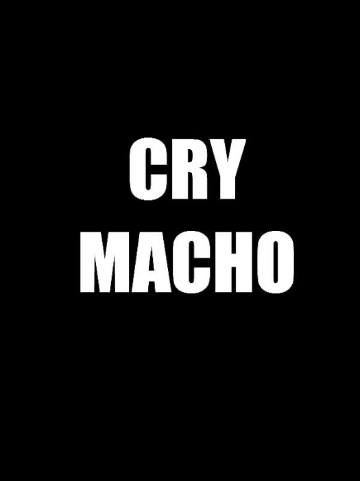 Cry Macho : Affiche