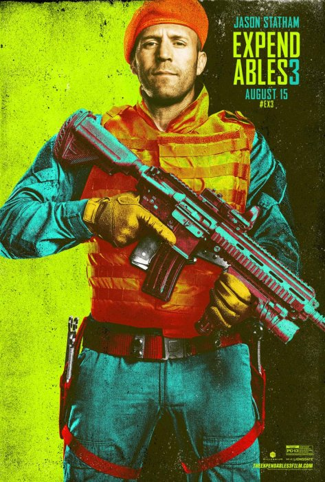 Expendables 3 : Affiche