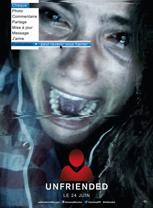 Unfriended : Affiche