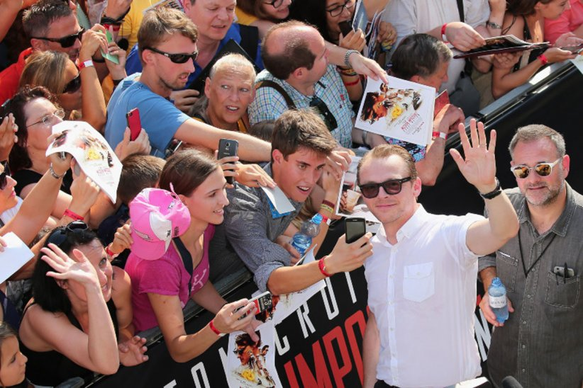 Mission: Impossible - Rogue Nation : Photo promotionnelle Simon Pegg