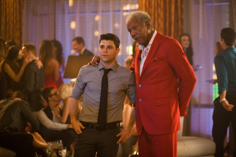 Last Vegas : Photo Jerry Ferrara, Morgan Freeman