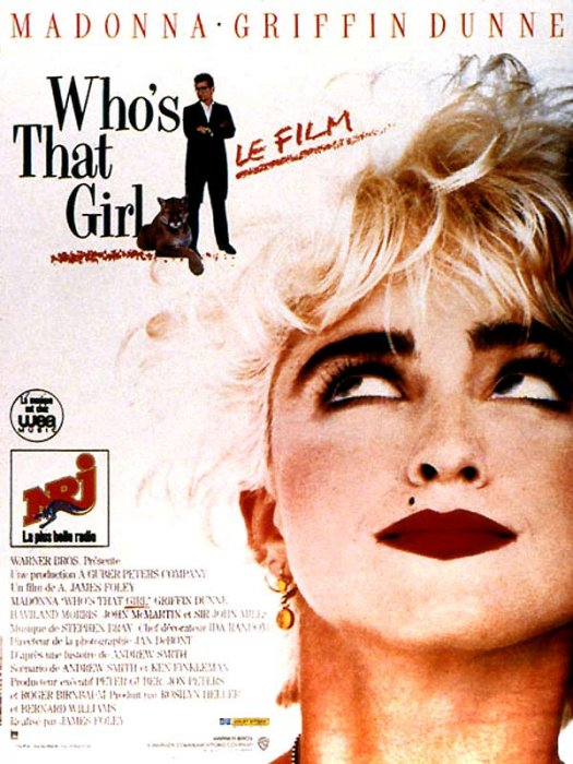 Who's That Girl ? : Affiche