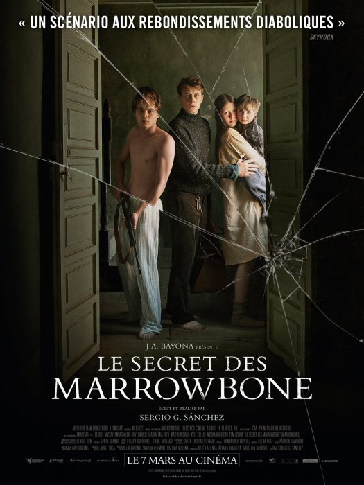 Le Secret des Marrowbone : Affiche