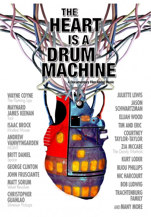 The Heart Is a Drum Machine : Affiche