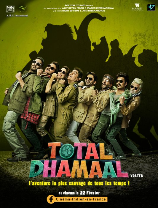 Total Dhamaal : Affiche