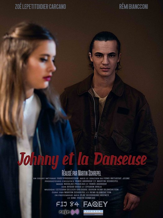 Johnny et la danseuse : Affiche