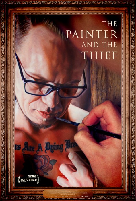 The Painter And The Thief : Affiche