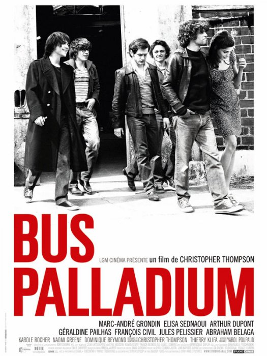 Bus Palladium : affiche Christopher Thompson