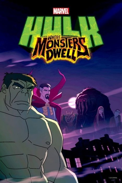 Hulk: Where Monsters Dwell : Affiche