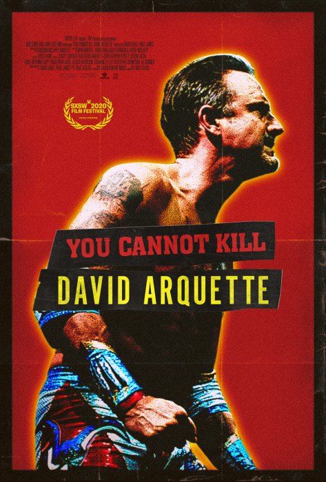 You Cannot Kill David Arquette : Affiche