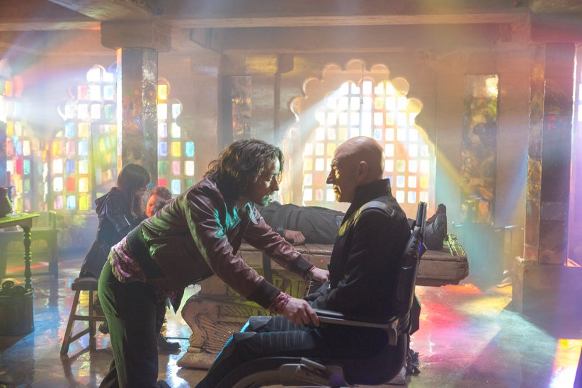 X-Men: Days of Future Past : Photo James McAvoy, Patrick Stewart