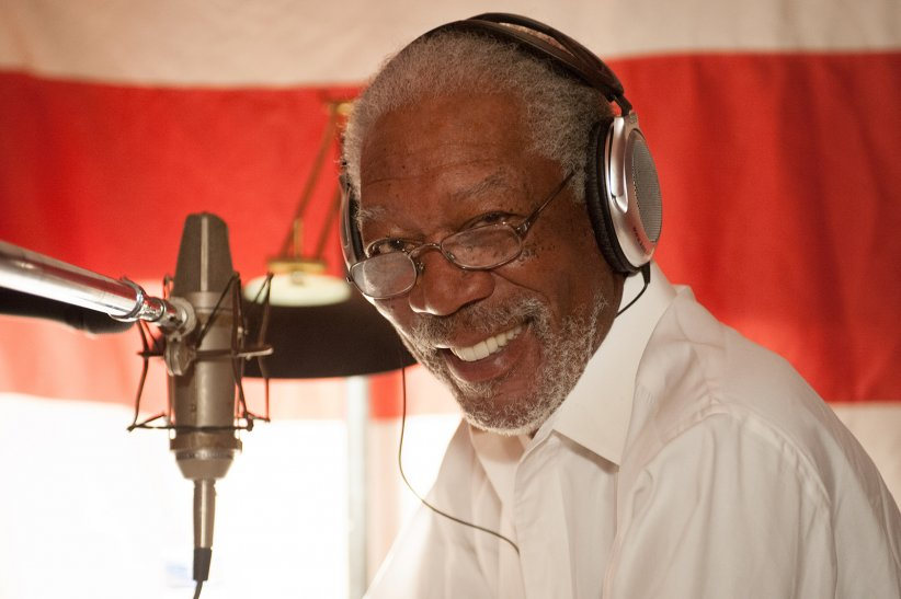 La Grande Aventure Lego : Photo Morgan Freeman
