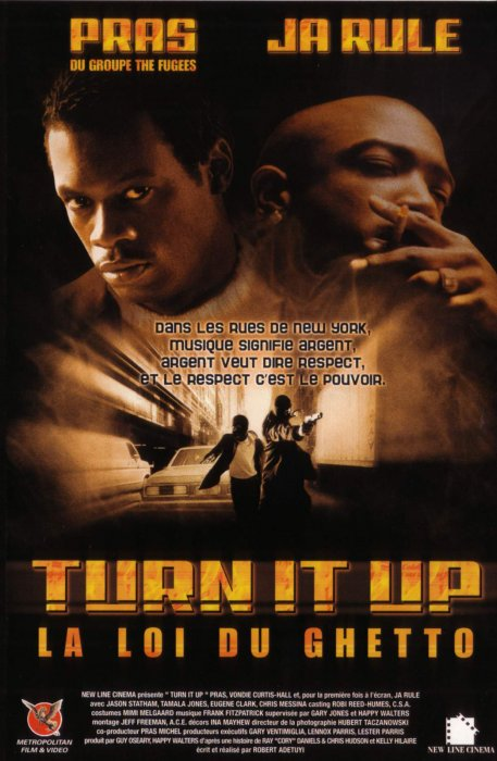 Turn it up : Affiche