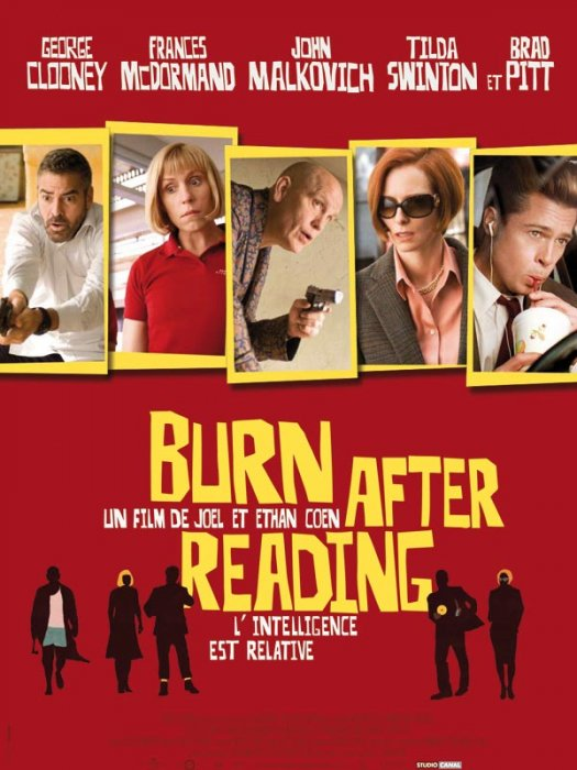 Burn After Reading : Affiche