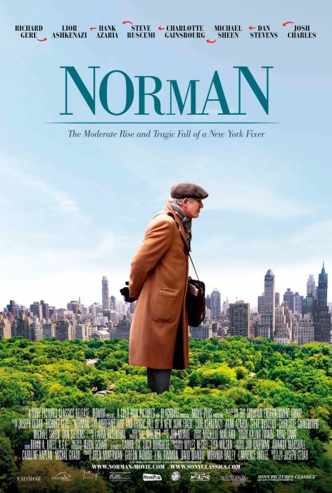 Norman: The Moderate Rise and Tragic Fall of a New York Fixer : Affiche