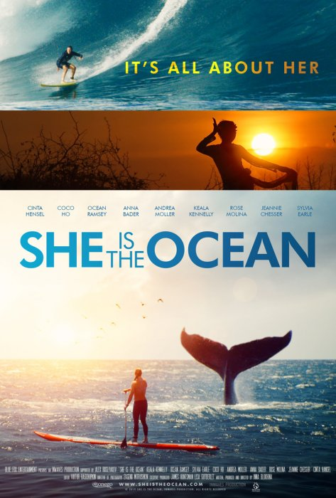 She Is the Ocean : Affiche