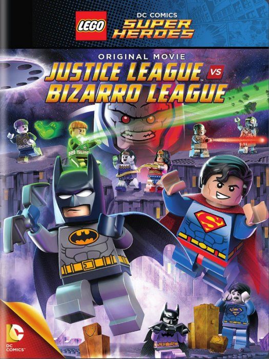 Lego DC Comics Super Heroes: Justice League vs. Bizarro League : Affiche