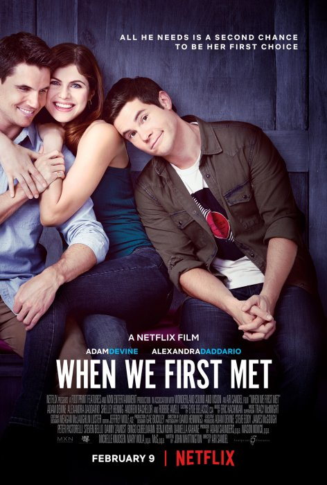 When We First Met : Affiche