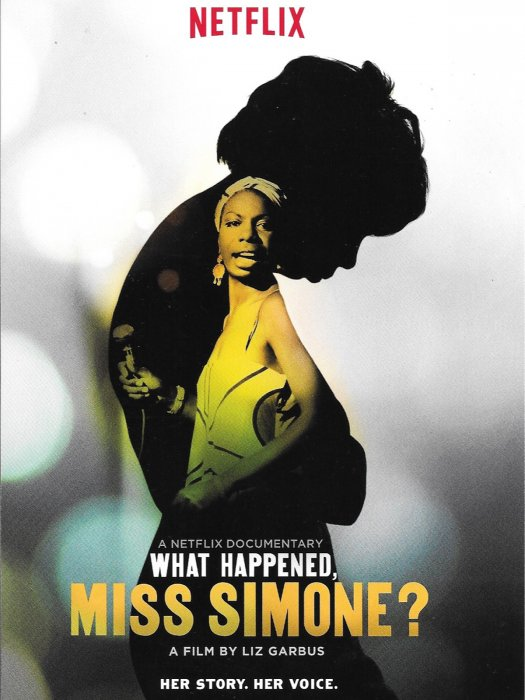 What Happened, Miss Simone? : Affiche